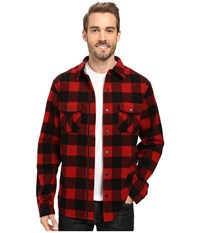 Smartwool Anchor Line Shirt Jacket Crimson Men's Clothing Red