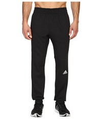 Adidas Slim 3 Stripes Sweatpants Black White Men's Workout