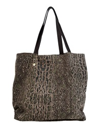 Manila Grace Denim Handbags Khaki