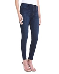 Liverpool Bridget High Rise Skinny Ankle Jeans In Dark Blue