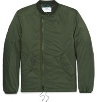 Oamc Padded Hell Bomber Jacket Army Green