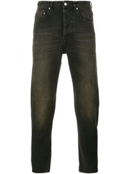 Golden Goose Deluxe Brand Washed Denim Jeans Black