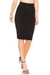 Velvet By Graham And Spencer Trava Skirt Black