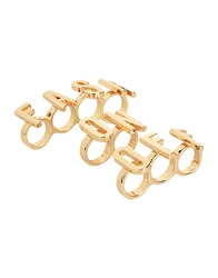 Moschino Couture Rings Gold