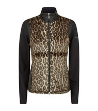 Bogner Leopard Print Grit Jacket Female Black