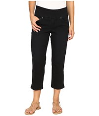 Jag Jeans Petite Echo Crop In Dolce Twill Black Women's