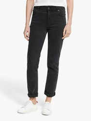 Boden Girlfriend Jeans Washed Black