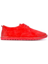 Marsell Oxford Shoe Red