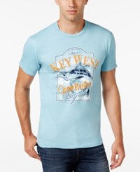 G.H. Bass And Co. Key West T Shirt Milky Blue