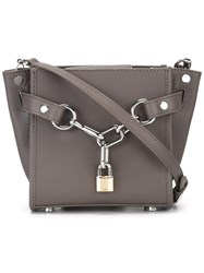 Alexander Wang Mini 'Attica' Crossbody Bag Grey