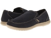 Crocs Santa Cruz Black Khaki Slip On Shoes Multi
