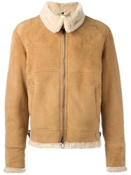 Giorgio Brato Zipped Short Coat Nude Neutrals