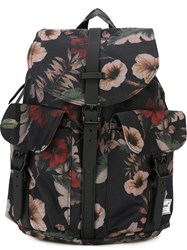 Herschel Supply Co. Floral Print Backpack Multicolour