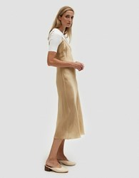 Organic By John Patrick Long Bias Slip In Nude