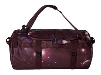 The North Face Base Camp Duffel Medium Solar Flare Print Root Brown Duffel Bags