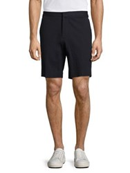 Burberry Dolan Cotton Shorts Navy