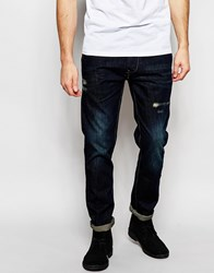 Brave Soul Slim Fit Jeans Blue