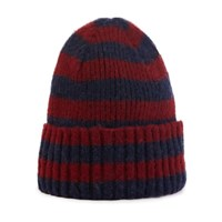 Howlin' Striped Beanie Wine