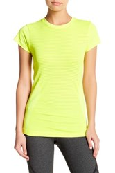 New Balance Made For Movement Seamless Tee Yellow