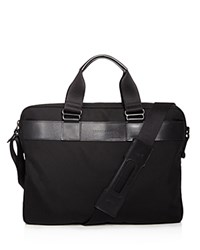 Longchamp Nyltec Small Briefcase Black