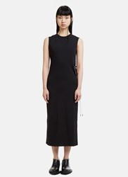 Alyx Cut Out Wire Jersey Dress Black