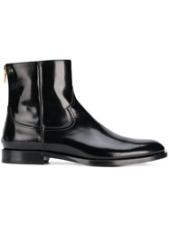 Dolce And Gabbana Chelsea Ankle Boots Black