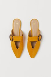 Handm H M Mules Yellow