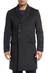 Robert Graham Men's The Family Man Herringbone Topcoat