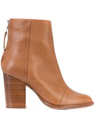 Rag And Bone Ashby Ankle Boots Women Calf Leather Leather 37.5 Brown