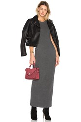 James Perse Sleeveless Maxi Dress Charcoal