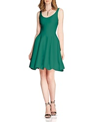 Halston Heritage Faille Tulip Skirt Dress