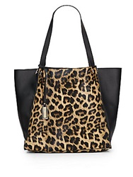 Urban Originals Wonder Leopard Print Faux Leather Tote