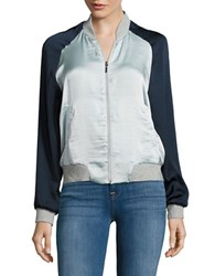 Vero Moda Nicole Colorblocked Bomber Jacket Plein Air