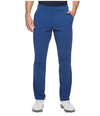 Perry Ellis Slim Fit Solid Tech Chino Bright Sapphire Men's Clothing Blue