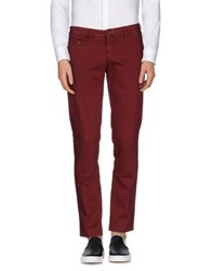 Maison Clochard Trousers Casual Trousers Men Maroon