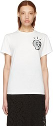 Gucci White Life Is T Shirt