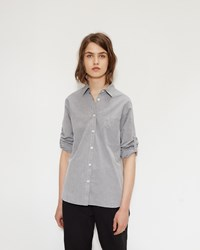 Mhl By Margaret Howell Single Pocket Shirt Grey