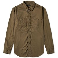 Engineered Garments Work Shirt Green