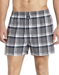 Nautica Flannel Knit Boxers Grey