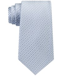 Kenneth Cole Reaction Men's Shaded Natte Tie Silver