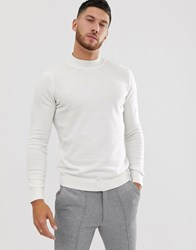 New Look Turtle Neck Jumper White