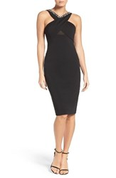 Eci Women's Embellished Sheath Dress