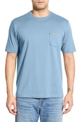 Tommy Bahama Men's 'New Bali Sky' Original Fit Crewneck Pocket T Shirt Soft Aqua