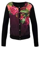 Ted Baker Teeah Juxtapose Cardigan Black