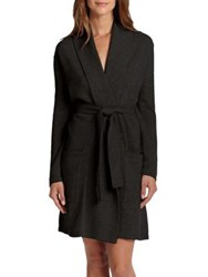 Arlotta Exclusively For Saks 5Th Avenue Cashmere Short Robe Black