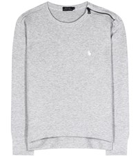 Polo Ralph Lauren Cotton Blend Sweatshirt Grey