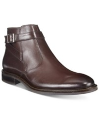 Alfani Men's Noah Side Strap Boots Only At Macy's Men's Shoes Brown