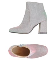 Le Stelle Ankle Boots Light Pink