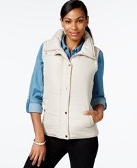 Styleandco. Style And Co. Sport Sleeveless Vest Only At Macy's White Truffle