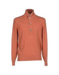 Brunello Cucinelli Turtlenecks Orange